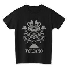 volcano | デザインTシャツ通販 T-SHIRTS TRINITY(Tシャツトリニティ)