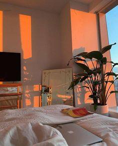 hadonis   nature, indie et alternative Room Design Bedroom, Room Ideas Bedroom, Bedroom Decor, Childs Bedroom, Bedroom Inspo, Room Ideias, Dream Apartment, Cozy Apartment, Apartment Interior