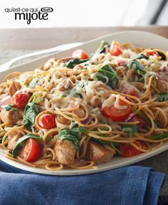 Toss colorful fresh veggies with whole wheat pasta, pork tenderloin and cheese to make this Healthy Living dish. Kraft Recipes, Pork Recipes, Pasta Recipes, Cooking Recipes, Healthy Recipes, What's Cooking, Recipies, Pork Meals, Diet Meals