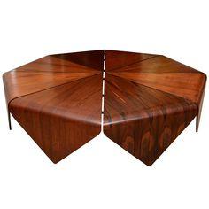 Jorge Zalszupin Coffee Table - Mid-Century Masterpiece   1stdibs.com