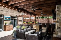 Find the best of Chicago Roof Deck + Garden from HGTV Outdoor Living Rooms, Outdoor Spaces, Outdoor Garden Furniture, Outdoor Decor, Deck Seating, Hot Tub Deck, Chicago, Backyard Paradise, Covered Pergola