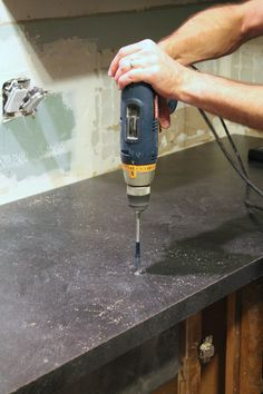 Learn how to install a Karran undermount sink that works with laminate countertops!