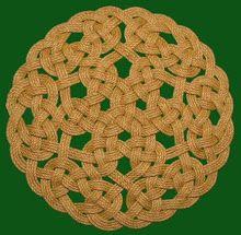 Diy Celtic Knot Rope Rug