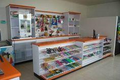 Resultado de imagen para estantes de madera para tienda de abarrotes
