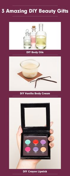 3 Amazing DIY Beauty Gifts
