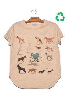 Camiseta Amiga Love Dog R$67,90. Veja mais em nosso site de compras online: Usenatureza.com