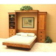 Mission Oak Murphy Bed