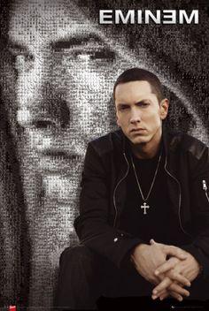 Eminem Mosaic Poster at AllPosters.com