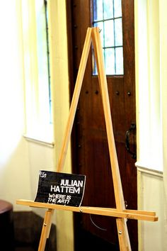 Homemade Wood Easel Plans
