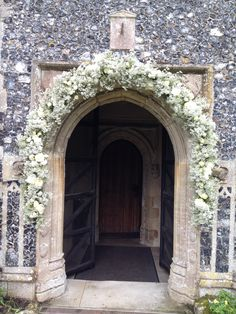 Arch Of Hengrave Church In White