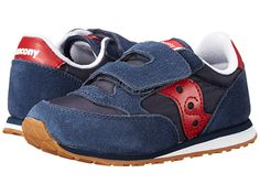 Saucony Kids Baby Jazz H&L (Toddler/Little Kid) Navy/Red - Zappos.com Free Shipping BOTH Ways