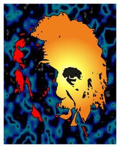 Pop Art Portrait Lesson - Albert Einstein