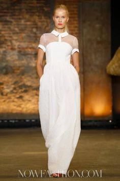 Christian Siriano Ready To Wear Spring Summer 2014 New York Live Fashion, New York Fashion, Runway Fashion, Spring Fashion, Fashion Show, Fashion 2014, Fashion Outfits, Fashion Weeks, Fashion Design