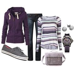 Casual Purples