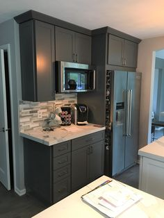 Lowes Kitchen Remodel Sink Designs 467 Best Real Kitchens Designers Images In 2019 White And Gray Cabinetry Pair Well This Beautiful