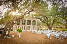 a ceremony site and/or reception area at Blue Rock Estate. #drippingsprings #bluerockestate www.bluerockestate.com Austin Wedding Venues, Dripping Springs, Texas Hill Country, Blues Rock, Reception Areas, Spring Wedding, Wedding Ceremony, Dolores Park, Deep