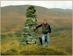 Tom MacDonald (me) in the Drumochter hills, Scotland. November 2014.
