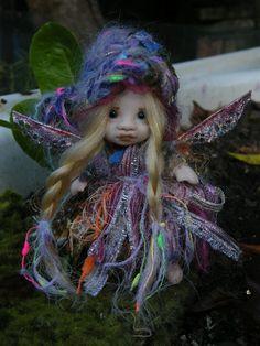 sweet  45  inches  tiny fairy fairie  by throughthemagicdoor