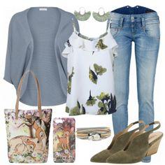 Sommerpower Damen Outfit - Komplettes Freizeit Outfit günstig kaufen   FrauenOutfits.de