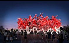 Coca Cola mostra como será o seu pavilhão dentro do Parque Olímpico. - Surto Olimpico