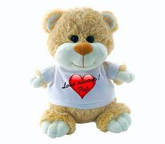 Teddy Bear - Valentines Day (Personalise Him! Art For Kids, Valentines Day, Plush, Teddy Bear, Romantic, Toys, Children, Animals, Valentines