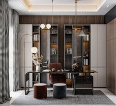 Office Space Design, Office Interior Design, Office Interiors, Luxury Interior, Interior Architecture, Office Shelf, Home Office, Kitchen Sets, Commercial Interiors