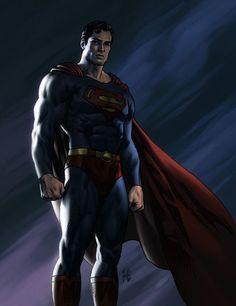#Superman #Fan #Art. (Superman) By: Michael Hamlett. [THANK U 4 PINNING!!]