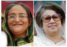 Bitter Political Rivals 'Sheikh Hasina' and 'Khaleda Zia' in Bangladesh