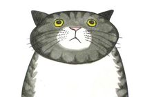 Author and illustrator Judith Kerr talks about bringing the feline character Mog back for Christmas. Graphic Design Illustration, Illustration Art, Cat Illustrations, 26 November, I Love Cats, Cat Art, Kids Playing, Animal Pictures, Cats And Kittens