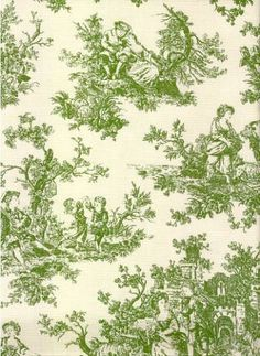 Great for upholstery, pillows and slipcovers. French Wallpaper, Cottage Wallpaper, Cute Patterns Wallpaper, Colorful Wallpaper, French Country Fabric, Cigar Box Crafts, Green Fields, Mediterranean Style, Textile Patterns