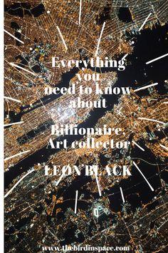 Leon Black   Munch The Scream   Art Business   Modern Art   Auction Record   Art Collector   Hedge Fund   Billionaire Art Collector