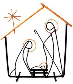 Mid Century Modern Eames Weinberg Christmas Nativity https://www.artyah.com/seller/midcenturymodernom