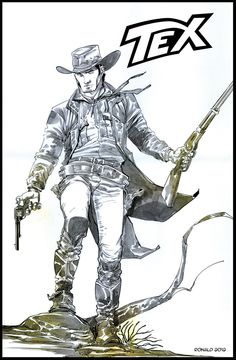 Tex Ranger By Bonelli Comics by ronaldguimaraes.deviantart.com on @deviantART