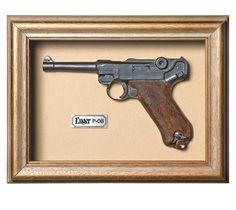 Quadro  Réplica de Arma Luger