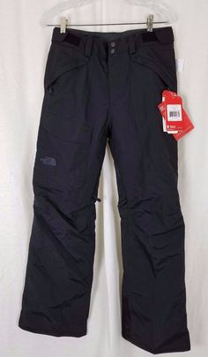 f1b986164c The North Face Freedom Insulated Waterproof Ski Snow Pants Black Small  HYVENT for sale online | eBay