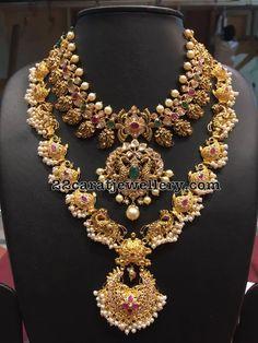 Peacock Long Chain by Bhavani Jewellers