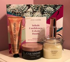 osie Maran's Argan Body Revitalization Collection from QVC - Product Review