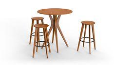 Greenington Classic Bamboo Mimosa Table - Counter or Bar Height Greenington Collection .