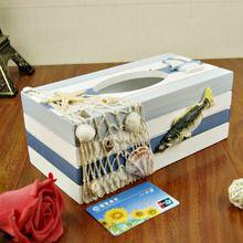 JJ veľká tkanivo box drevená debna stredomorskom štýle záhrada Domáce potreby Malá remeslá, dekorácie, bytové dekorácie (Čína (pevninská časť))