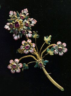 Hungarian, 17th century brooch