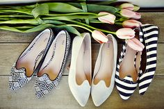 Sage Brett flats // one for every sunny day... #wearabledesign