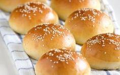 Ψωμάκια για χάμπουργκερ  - iCookGreek
