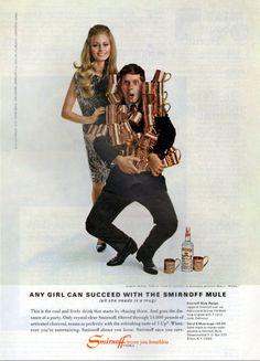 Robert Morse for Smirnoff - 1967 Smirnoff, Hipster, Wonder Woman, Superhero, Fictional Characters, Women, Style, Fashion, Swag