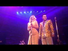 Holly Madison Sings with Million Dollar Quartet Las Vegas - Dec. 4