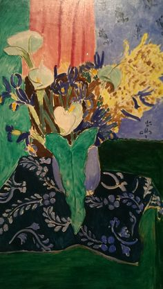 """artemisdreaming: """" Calla Lilies, Irises and Mimosas, 1931 Henri Matisse """" Henri Matisse, Matisse Art, Andy Warhol, Pablo Picasso, Fauvism Art, Matisse Paintings, Post Impressionism, French Art, Life Drawing"""