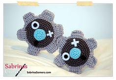 Ravelry: Klink (pokemon) pattern by Sabrina Somers