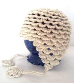 Newborn Hat - Crocheted - Petals upon Petals