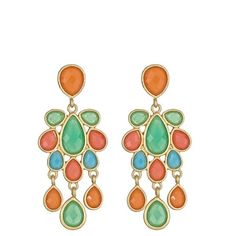 Fornash Jewel Cabana Chandelier Earring ($32) ❤ liked on Polyvore