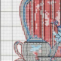 Схема вышивки Время чаепития (Dimensions) 1 из 4