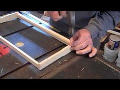FatBeeMan Frame building and installing wax foundation - YouTube Langstroth Hive, Bee Sting, Bee Supplies, I Love Bees, Bee Hive Plans, Bee Boxes, Save The Bees, Foundation, Honey Bee Hives